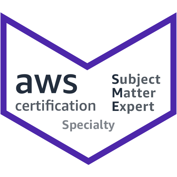 AWS Subject Matter Expert (SME)
